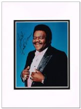 Fats Domino Autograph Signed Photo